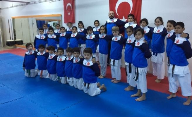 Karamanlı Karateciler Hedef Yükseltti