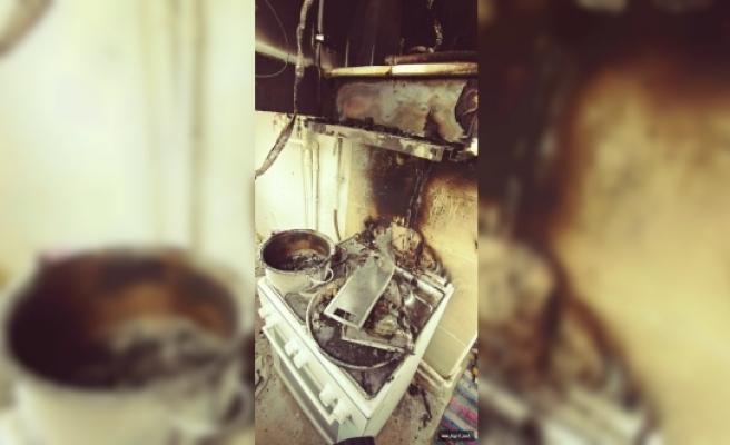 Mutfak Aspiratörü Yangın Çıkardı
