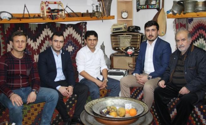 Ak Parti Gençlik Kolları Üyelerinden KGRT'ye Ziyaret