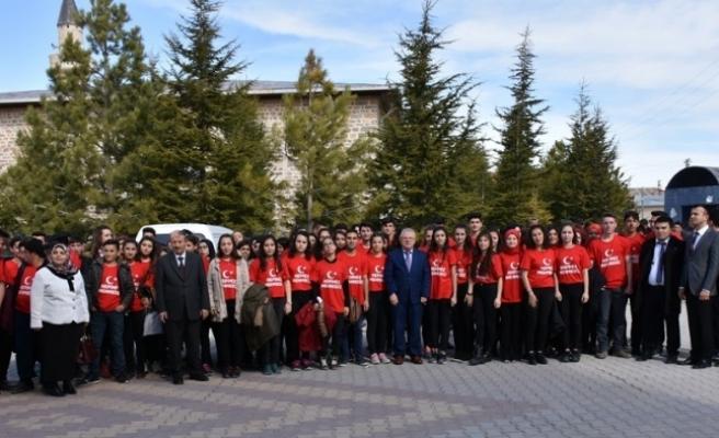 Akçaşehir Çok Programlı Anadolu Lisesinden Mehmetçiğe Destek