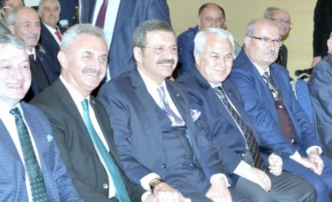 Başkan Baştuğ GTİ Genel Kurulu İçin Ankara'da