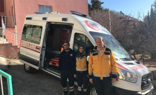 Ermenek'e 112 Acil İstasyonu Açıldı