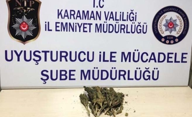 Karaman'da Uyuşturucu Satıcısı Tutuklandı