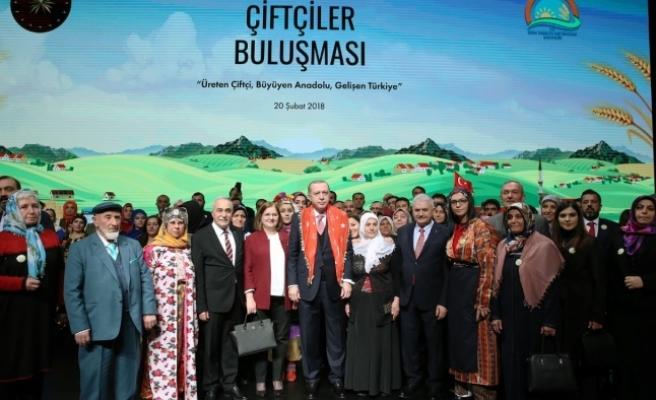 Karamanlı Çiftçiler Cumhurbaşkanı Erdoğan'la Buluştu