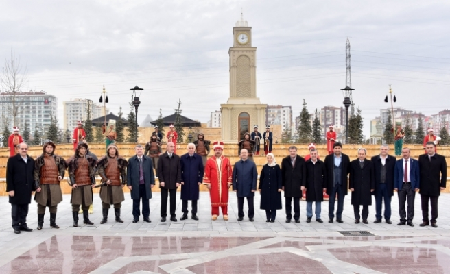 Konya'da Bulunan Belediye Başkanları Tarihi Ve Kültürel Mekanları İnceledi