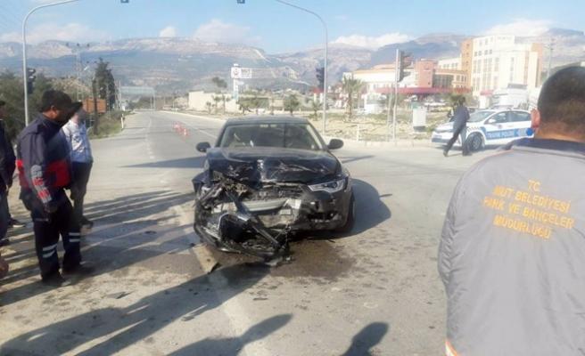 Mut Belediye Başkanı Nebi Yılmaz Kaza Yaptı