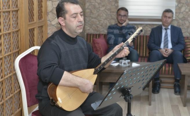 Neşet Ertaş, KMÜ'de Türküleriyle Anıldı