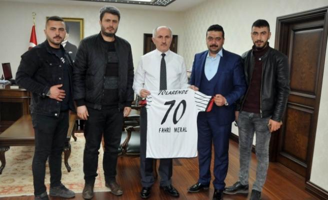 70 Larendespor Kulübünden Ziyaret