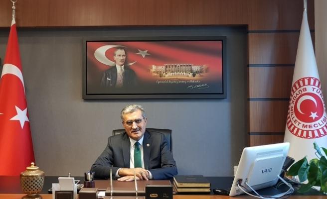 """Başkan Konuk: """"İstiklal Marşı Tarihimizi İstikbale Bağlayan Köprüdür"""""""