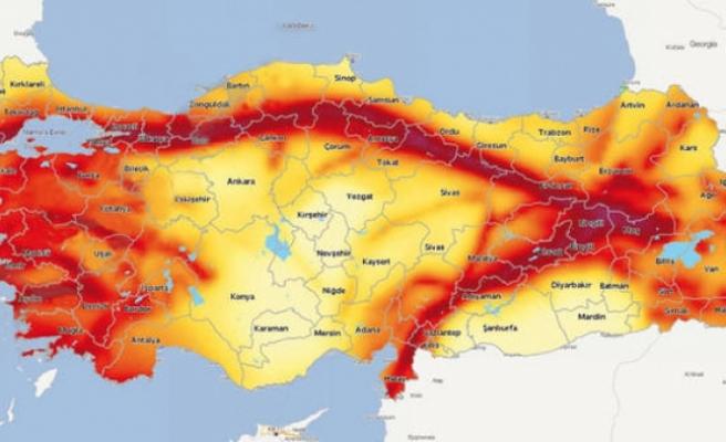 Deprem Haritası Güncellendi: 46 İlde Risk Azalırken, Karaman'ın da İçinde Bulunduğu 6 İlde Yükseldi