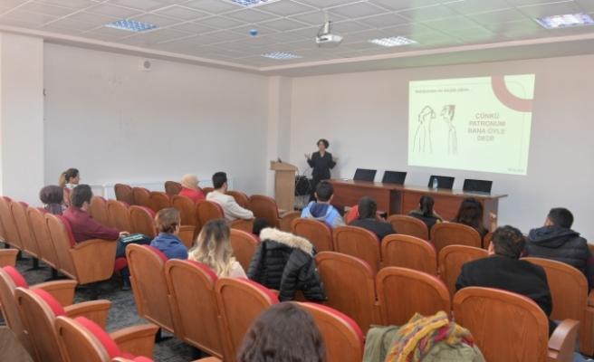 Duygu Paçalı'dan KMÜ'de Eğitim Semineri