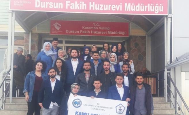 KMÜ Kamu Denetçiliği Topluluğu'ndan Huzurevi Ziyareti