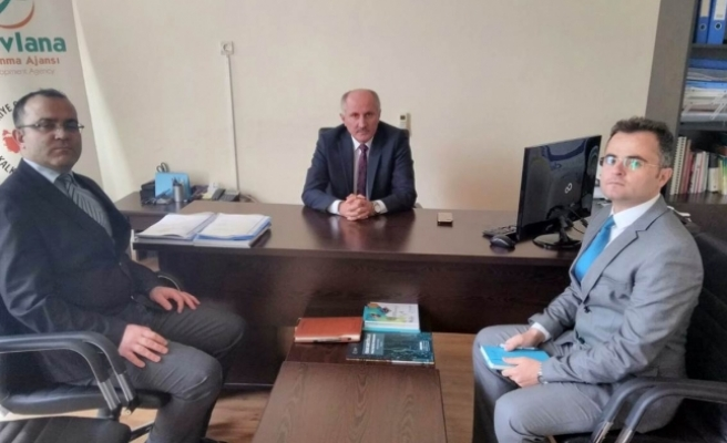 Vali Meral'den MEVKA Karaman İl Koordinatörlüğüne Ziyaret