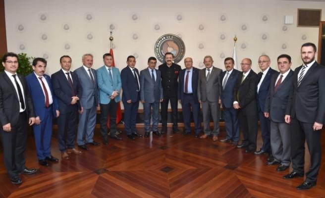 Karaman Ticaret Borsası'ndan Hisarcıklıoğlu'na Ziyaret