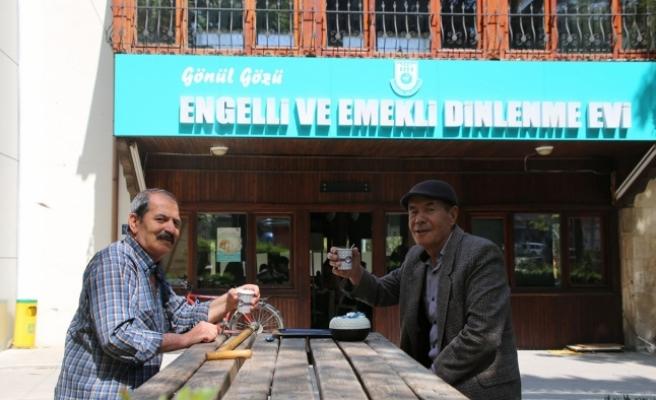 Karaman'da Engelli Ve Emekli Dinlenme Evi'ne Yoğun İlgi