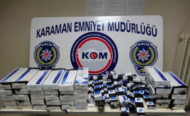 Karaman'da Kaçak İçki Ve Sigara Operasyonu