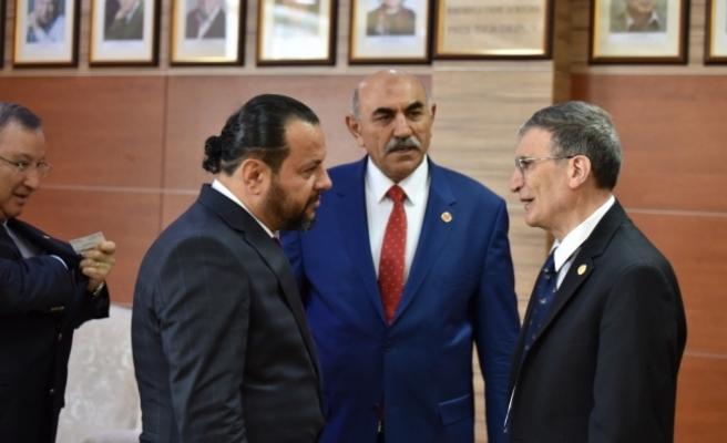 KMÜ İle Kırgızistan-Türkiye Manas Üniversitesi Arasında İşbirliği Protokolü