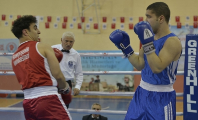 Üniversitelerarası Boks Şampiyonası Başladı