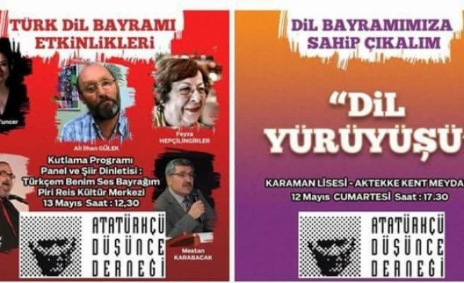 ADD Türk Dil Bayramını Kutlayacak