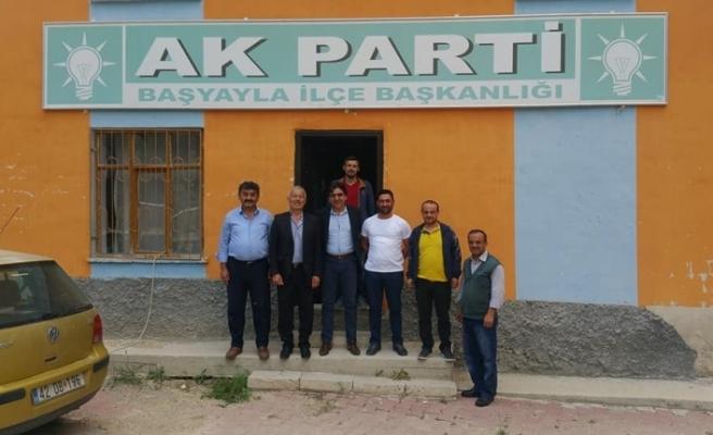 AK Parti Milletvekili Aday Adayı Adem Kocatürk Taşeli Bölgesindeydi