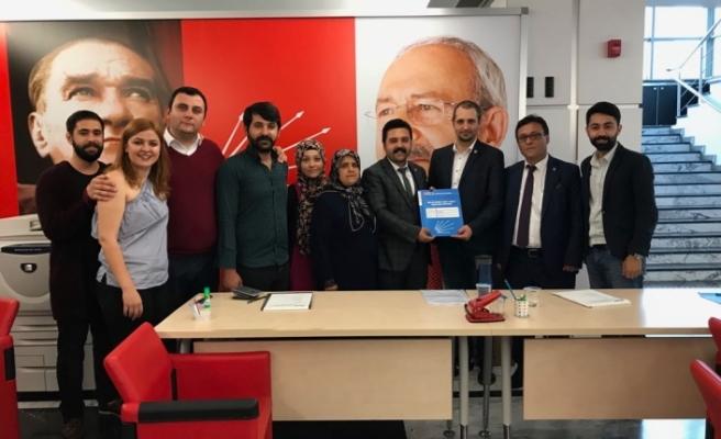 Baştuğ'da CHP'den Milletvekili Aday Adaylığı Başvurusunu Yaptı