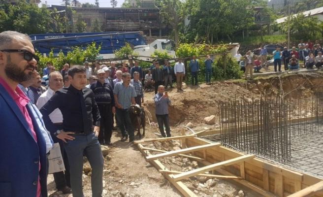 Ermenek İlçesi Yeşilköy'e 500 Kişilik Camii