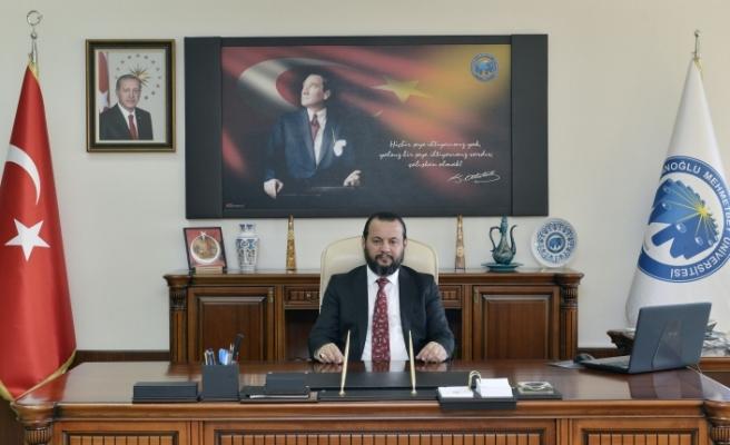 KMÜ Rektörü Akgül'ün 13 Mayıs Türk Dil Bayramı Mesajı
