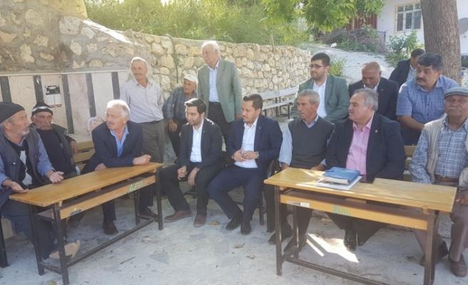 Ak Parti Milletvekili Adayları Taşeli'deydi