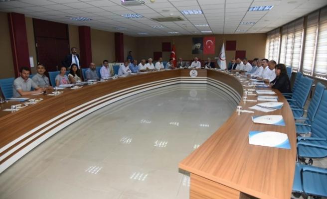 Bağımlılık İle Mücadele İl Koordinasyon Kurul Toplantısı Yapıldı