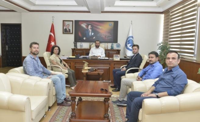 İMO'dan Rektör Akgül'e Ziyaret