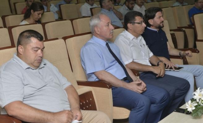 Kalite Yönetim Sistemi İle İlgili Toplantı Yapıldı