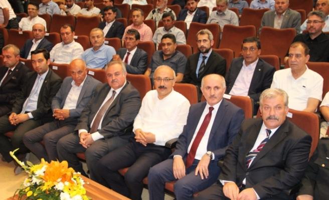"""Kalkınma Bakanı Elvan: """"Ülkemize Birlikte Sahip Çıkacağız"""""""