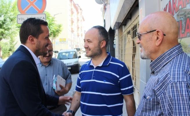 """Selman Oğuzhan Eser: """"Karaman, Bu Seçimde de Cumhurbaşkanımıza Desteğini Gösterecektir"""""""