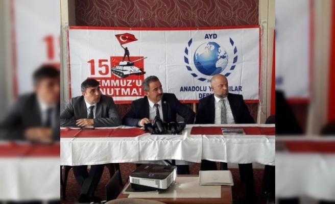 """AYD Başkanı Sinan Burhan: """"Bir Hafta Boyunca Darbe Karşıtı Yayınlar Yapacağız"""""""