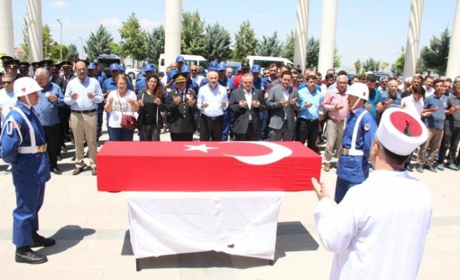Kazada Hayatını Kaybeden Yarbay İçin Tören Düzenlendi