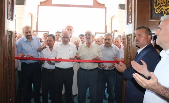 Şehit Ömer Halisdemir Camisi Dualarla Açıldı