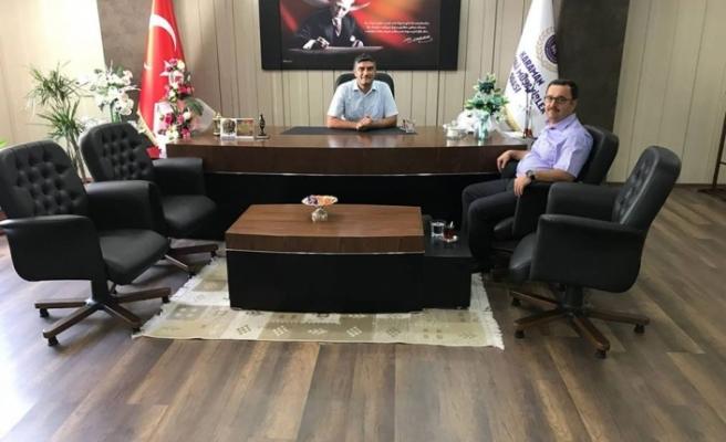 SGK İl Müdürü Serdar Fındık'tan Muhasebeciler Odasına Ziyaret