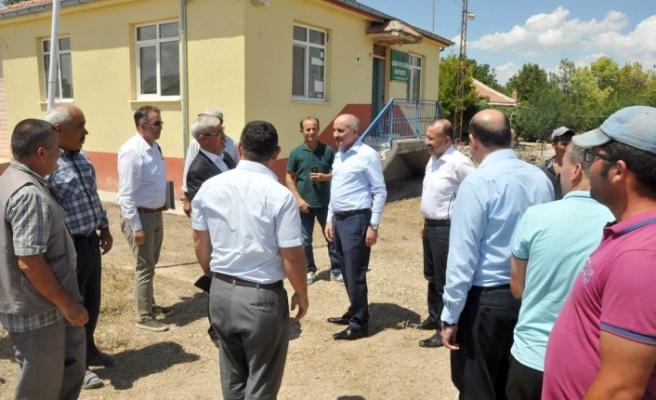Vali Meral Kaşoba Ve Demiryurt Köylerini Ziyaret Etti