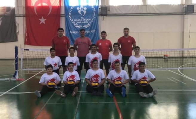 Oturarak Voleybol Eğitim Ve Gelişim Milli Takım Kampı, Karaman'da Devam Ediyor