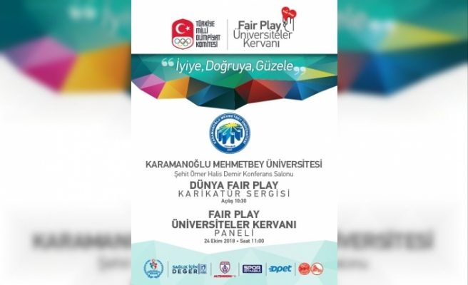 Fair Play Kervanı KMÜ'de