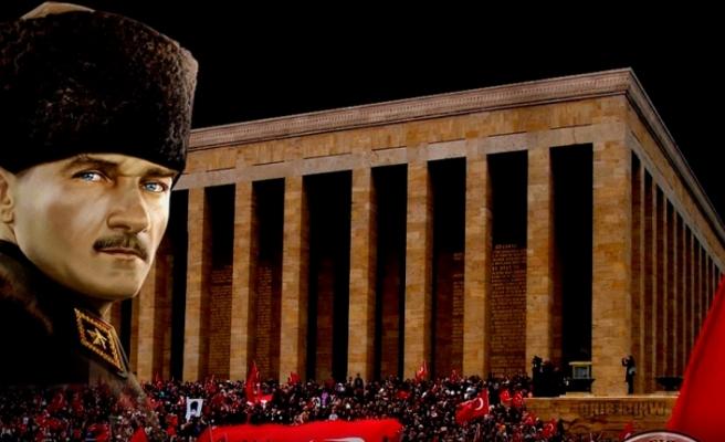 Atatürk ölümünün 80. Yılında anılacak