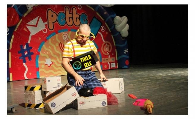 PETTE Çocuk Tiyatrosu Çocuklarla Buluştu