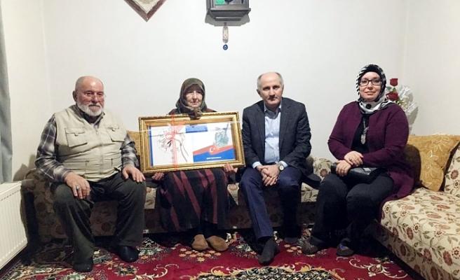 Vali Meral ve Eşinden Şehit Kızılay'ın Ailesine Ziyaret