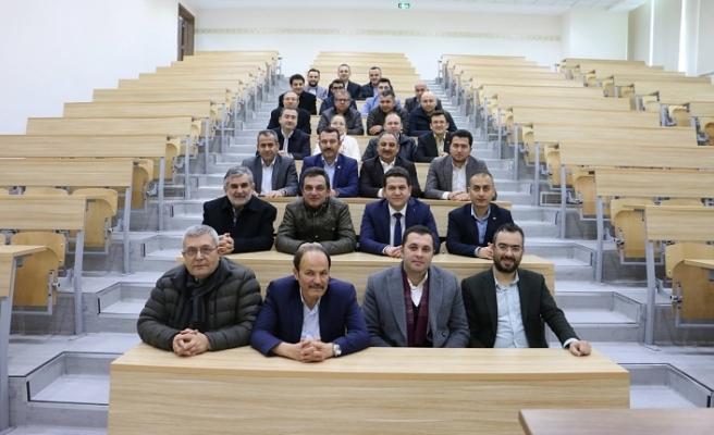 Konya-Karaman Oda ve Borsa İstişare Toplantısına Katıldılar