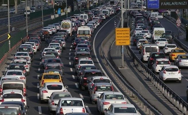 Motorlu Kara Taşıt Sayısı Bir Yılda 1 568 Adet Arttı