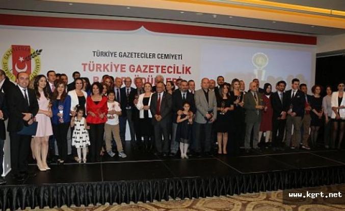 57. TGC Türkiye Gazetecilik Başarı Ödülleri sahiplerini buldu