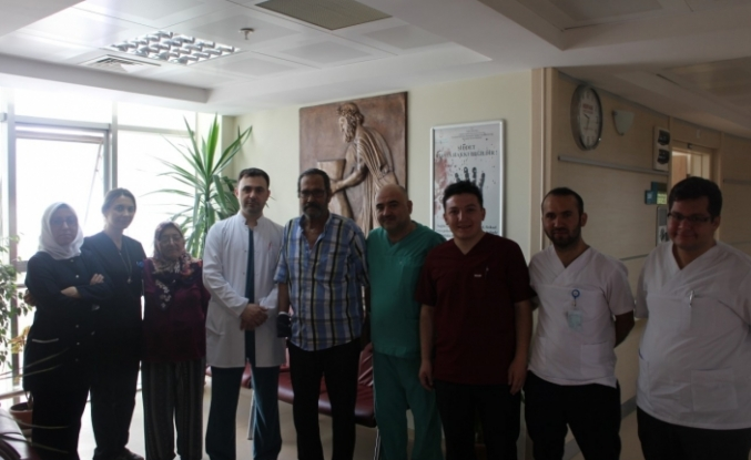 Karaman Devlet Hastanesinde Abdominal Aorttan Her İki Bacağa Bypass Yapıldı