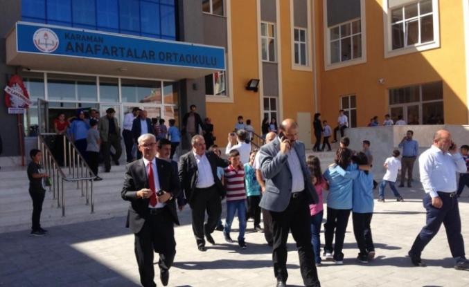 Anafartalar Ortaokulu'na Ziyaret