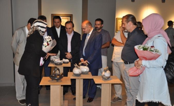 Medaş Sanat Galerisinde Sergi Açılışı