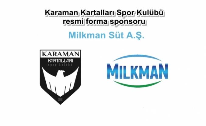 Milkman, Karaman Kartalları Spor Kulübüne Sponsor Oldu